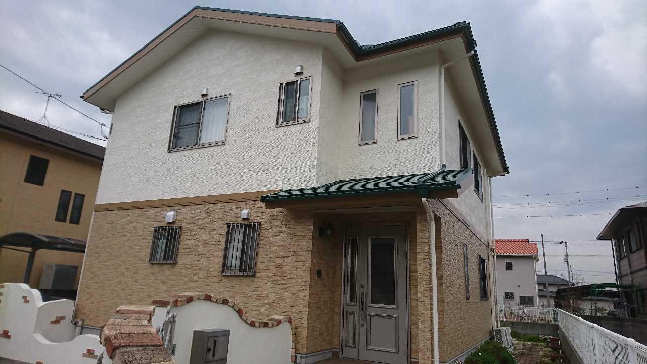 三豊市Y様邸。プロテクト4Fクリヤー・パーフェクトセラミックトップG工事完成。