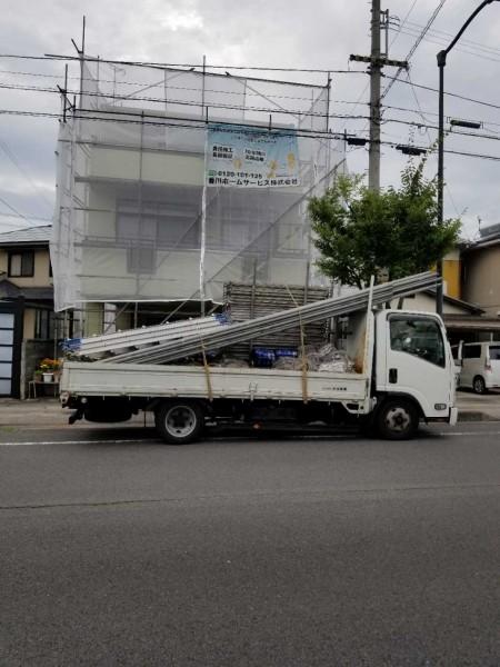 多度津町Tさま。着工致しました。日本ペイント販売店協賛キャンペーン実施中