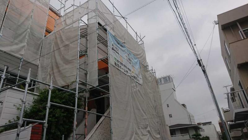 徳島県Mさま着工致しました。